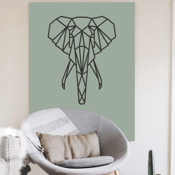Afrikaanse Olifant geometrisch