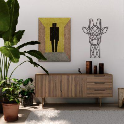 Giraffe geometrisch